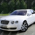Автомобиль Bentley Continental White